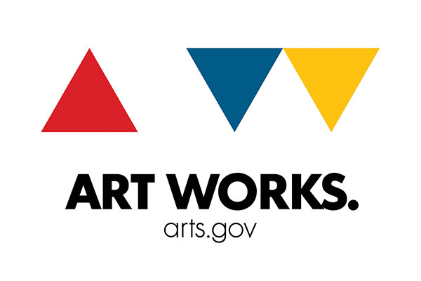 Logo for National Endowment for the Arts, Art Works.